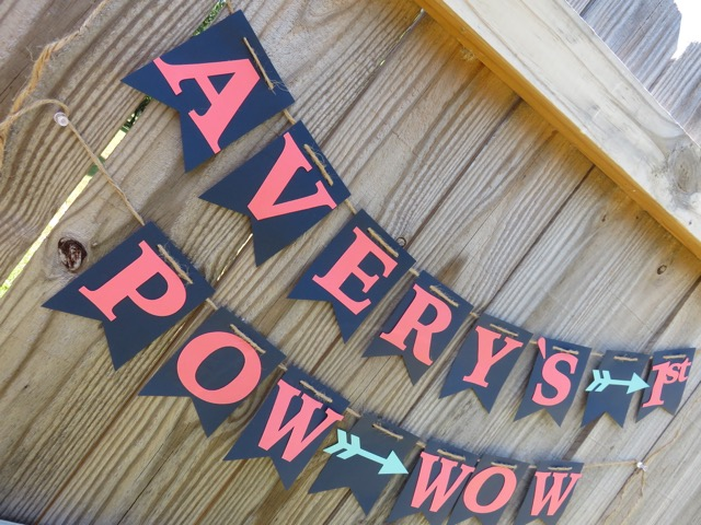 This banner was hung in the front of the house to announce this is where the party is at! Click on the picture to be directed to my shop!